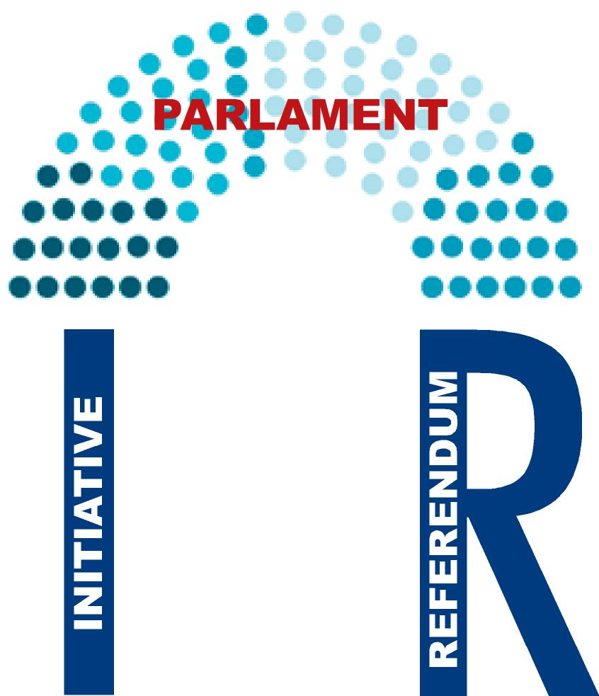 Initiative + referendum + Parlament