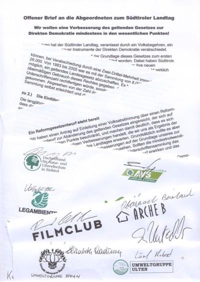 Initiative Für Mehr Demokratie Südtirol Iniziativa Per Più